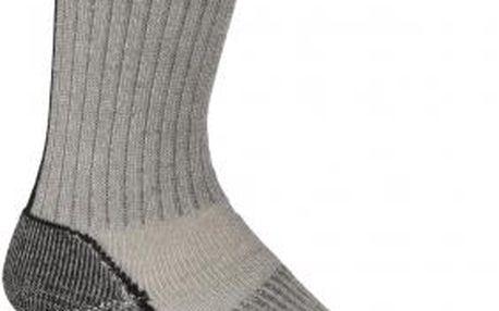 Univerzální turistická ponožka Icebreaker OUTDOOR MID CREW M šedá