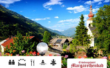 4* wellness pobyt s polopenzí v Rakousku