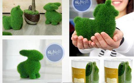 Dekorační zvířátkové trávové sošky!