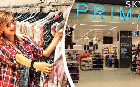Primark - do Vídně za nákupy nebo na výlet