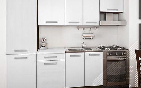 Kuchyňský blok Island 14 prosvětlí vaši kuchyň díky použitému bílému dekoru