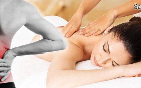 60 minut Dornovy metody s Breussovou masáží