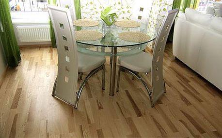 Dřevěná podlaha Jasan design lak