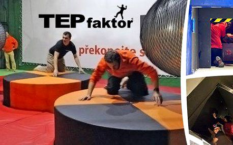 Týmová dobrodružná hra TEPfaktor – překonejte sami sebe!