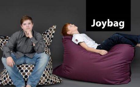 SEDACÍ VAKY JoyBag z nepromokavého materiálu domů i ven! Velký výběr barev a designových provedení!