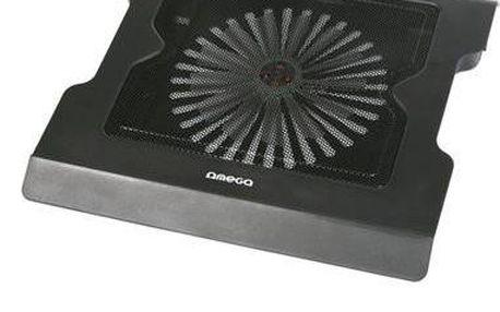 Podstavec pod notebook OMEGA COOLWAVE VADER, 20cm větrák, 2 USB