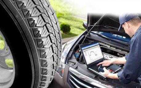 VÝMĚNA KOL nebo PŘEZUTÍ PNEUMATIK! Kontrola TECHNICKÉHO STAVU a diagnostika vozidla ZDARMA!