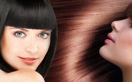 Kadeřnický balíček včetně střihu a barvy či melíru + trichologické vyšetření vlasů zdarma
