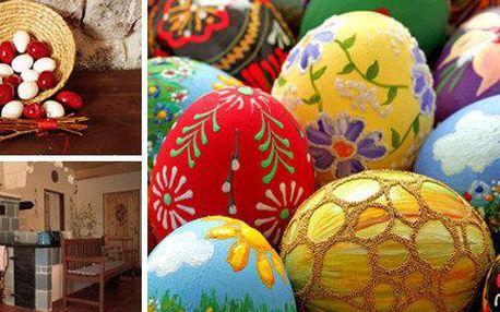 Jarní a velikonoční výstava, tvořivé dílny a palačinka v Čechově stodole
