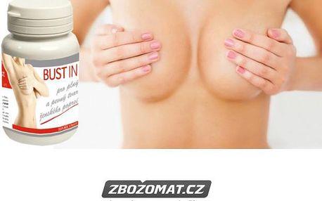 Bustin pro plný a pevný tvar ženského poprsí 60 tbl - krásná ňadra i bez plastiky!