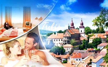 TŘEBÍČ! Pobyt pro DVA na 3, 4 nebo 5 dní ve 3* Hotelu Zlatý Kříž! Romantická VEČEŘE, SNÍDANĚ, WELLNESS!