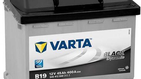 Autobaterie Varta BLACK dynamic - 12V 45 Ah 400 A