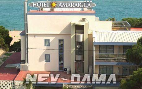 Hotel Amaraigua, Malgrat de Mar, Španělsko, vlastní doprava, all inclusive