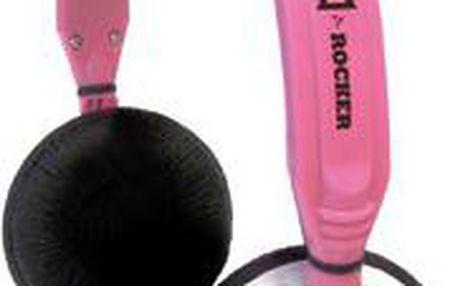 Stereo sluchátka přes hlavu Trevi DLX678 Pink