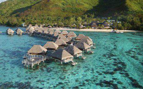 Francouzská Polynésie, oblast Moorea, doprava letecky, snídaně, ubytování v 4* hotelu na 18 dní