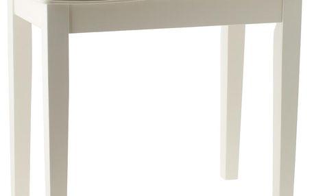 Klavírní stolička Dynatone BENCH WH