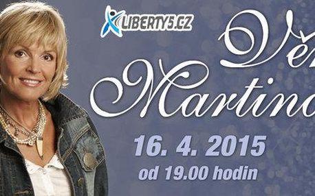 Koncert Věry Martinové