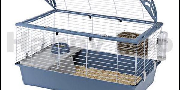 Klec FERPLAST Casita 100 96x57x56cm (MIX BAREV) pro hlodavce