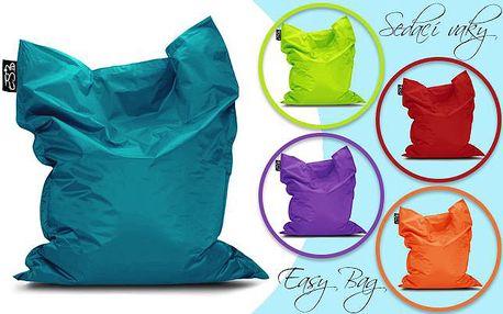 Oblíbené SEDACÍ VAKY Easy Bag s poštovným ZDARMA! Vyberte si z desítek barev tu pravou pro váš byt či zahradu a lenošte stylově! Vaky z kvalitního a omyvatelného materiálu s možností zaslání po celé ČR!!