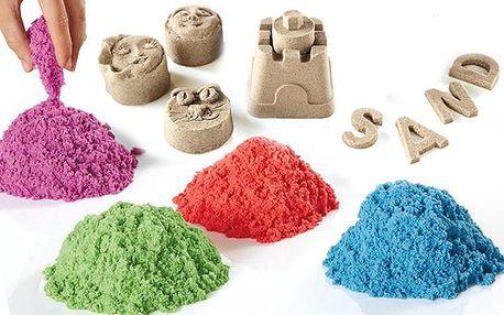 4x tekutý barevný písek