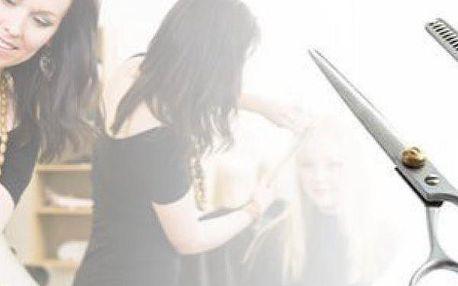 Kadeřnické a efilační nůžky z chirurgické oceli pro amatérské i profesionální stříhání.