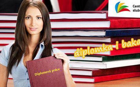 Svázání bakalářky nebo diplomky do pevných desek