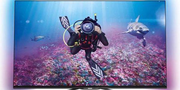 Ultratenký LED televizor Smart Full HD Philips 55PFS7189/12