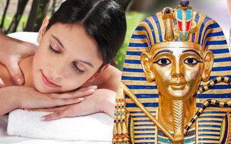 Egyptská masáž a rybí pedikúra Garra Rufa