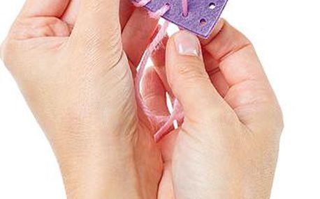 Dekorace srdce – šitíčko