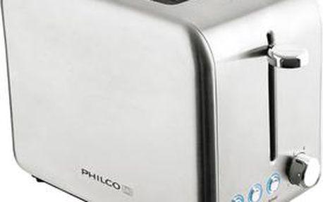 Topinkovač Philco PHTA 3000 s funkcí opakovaného ohřevu i rozmrazování
