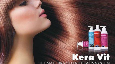 Perfektní vlasy! Brazilský keratin Kera VIT pro domácí péči