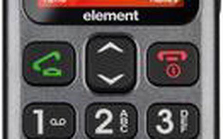 Jednoduchý mobilní telefon s velkými tlačítky a displejem Sencor Element P001S