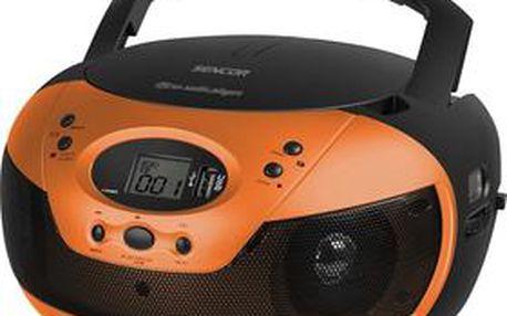 Radiopřijímač s CD Sencor SPT 229 OR
