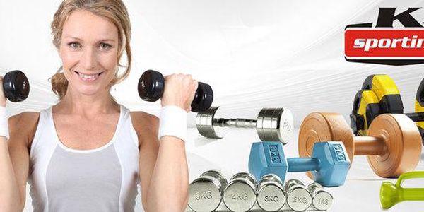 Sportovní činky na domácí cvičení