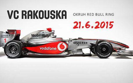 4990 Kč za zájezd na F1 VC RAKOUSKA na Red Bull Ringu v neděli 21.6.2015