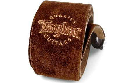 Kytarový popruh Taylor Suede Strap Chocolate