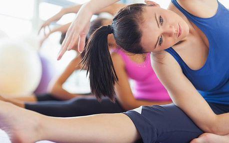 Skupinová lekce pilates nebo kruhový trénink v délce 1 hodiny