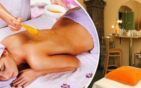 Třífázová detoxikační medová masáž