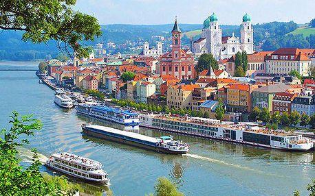 Zájezd s 5hodinovou plavbou lodí z Německa do Rakouska pro 1 osobu