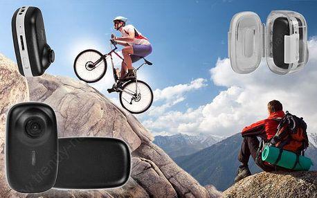 Sportovní mini kamera s příslušenstvím