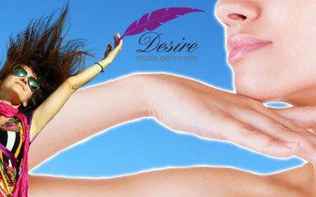 Zbavte se podbradku a povislé kůže na pažích