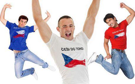 Bavlněná trička pro hokejové fanoušky – výběr z 9 motivů