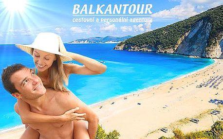 7 nebo 10 dní u moře na ostrově Korfu s ubytováním v hotelu s bazénem a polopenzí nebo apartmánech bez stravy + denně cvičení a výlety