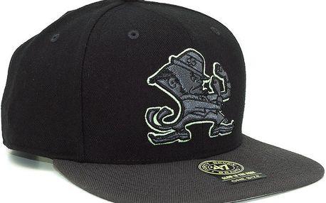 Kšiltovka 47 Brand Night Move Notre Dame Black/Charcoal Snapback černá / šedá / šedá