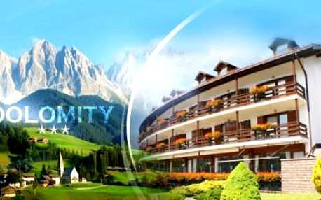 ITÁLIE - Dolomity! 6denní pobyt nedaleko Val di Fiemme pro DVA se SNÍDANÍ, WELLNESS, FITNESS a BAZÉNEM!