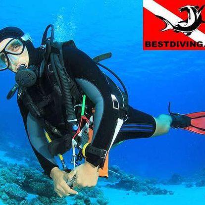 Potápění s instruktorem a zapůjčení výbavy