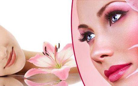 Kompletní 90minutové kosmetické ošetření pleti
