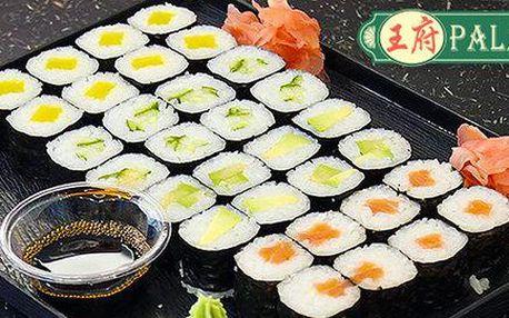 36 kousků maki a nigiri sushi