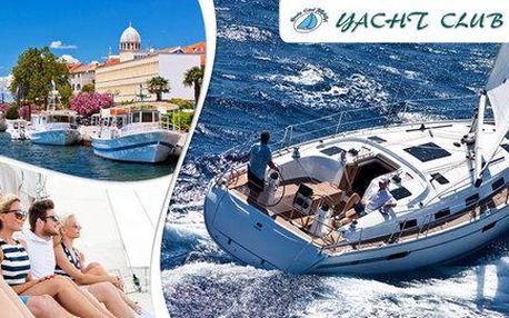 Týdenní plavba po ostrovech Dalmacie