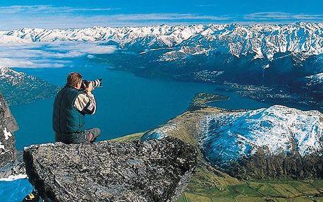Nový Zéland od severu k jihu, Austrálie (světadíl), Nový Zéland, letecky, strava dle programu